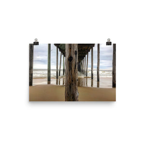 Under the Boardwalk Photo paper poster