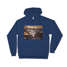 Explore Vida In Baltimore Unisex Fleece Hoodie