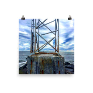 Inlet Photo paper poster