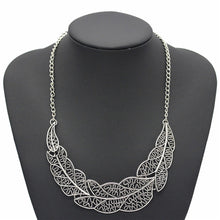 ADOLPH Jewelry wholesale Vintage Leaf Pednats Statement Necklace For Woman 2015 New design collar  necklaces & pendants Sale 083