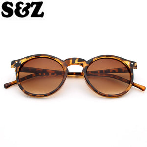 2017 Multicolour New Mercury Mirror Glasses Men Sunglasses Women Male Female Coating Sunglass Gold Round OCUL 10 Colors Optional
