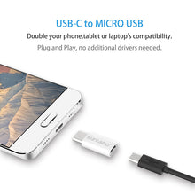 Suntaiho (3Pack) Micro USB Adapter to Type C USB C Adapter Converter for Xiaomi 4C Lg G5 Nexus 5x Oneplus 5 Type C Adapter