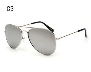 XIESIQING New Women Aviator Sunglasses Gold frame Glasses Men UV400 Shades Male Pilot Sunglass Female Eyewear lunette de soleil