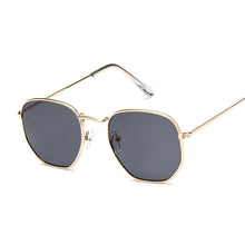 Vintage Square Sunglasses Women Men Shades Retro Classic Black Sun Glasses Female Male Luxury Brand Designer Oculos De Sol