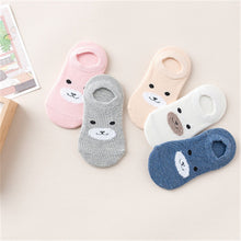 5 Pair/Lot  Baby Girls Boy Socks Wholesale Unisex Non Slip Baby Socks Infant Socks 0-3years