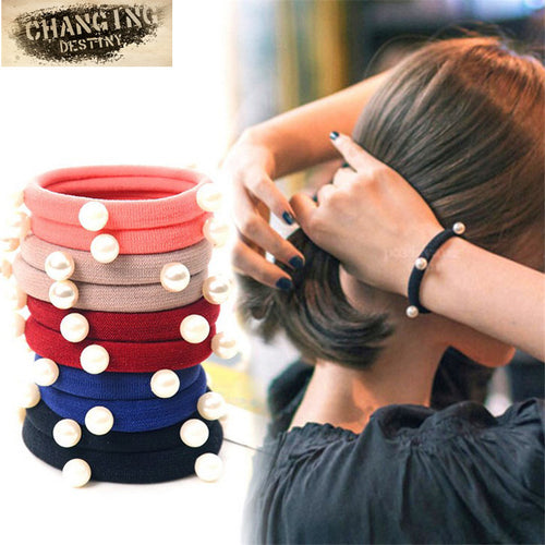 10 Pcs Headdress Clothing Accessories High Elastic Rubber Band