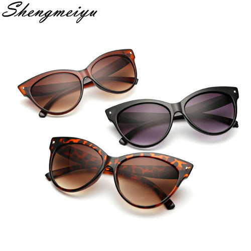NEW Cat Eye Sunglasses of Women Fashion Sexy UV400 Sun Glasses Gradient Lens Plastic Female Eyewear oculos de sol feminino