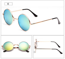 IVE Hot Vintage Round lens Sunglasses Men/women Mirror Gafas Oculos Retro Coating Sun Glasses Round Free Shipping 021