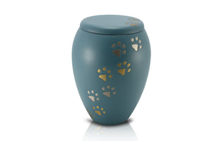 Standard Brass Vase Style Urn B14 - for pets up to 35kg all inclusive