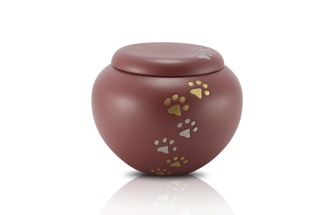 Standard Brass Jar Style Urn B19 - for pets up to 35kg all inclusive
