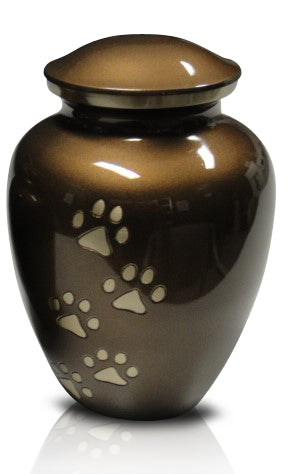 Superior Brass Vase Style Urn C17 - for pets up to 60kg all inclusive