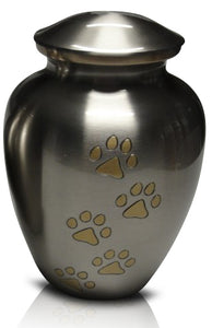Superior Brass Vase Style Urn C18 - for pets up to 60kg all inclusive