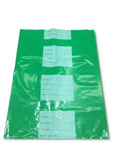 Medium (Green) Body Bag (per pack of 25)