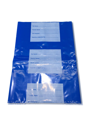 Small (Blue) Body Bag (per pack of 25)