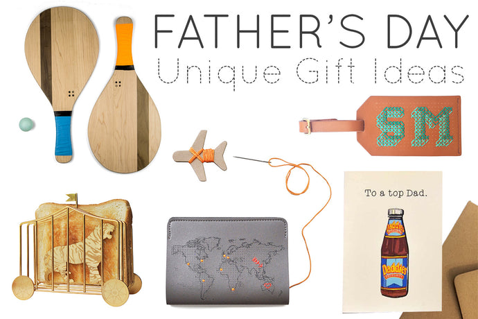 Unique Father's Day Ideas from independent design brands!