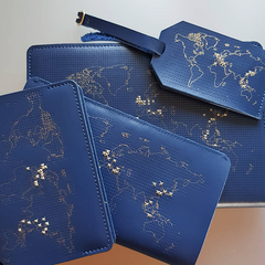 Navy Wallet Chasing Threads set @ahrin1980