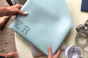 Stitch Laptop Sleeve - Mint