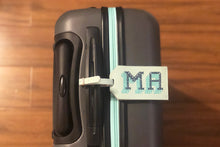 STITCH LUGGAGE TAG MINT