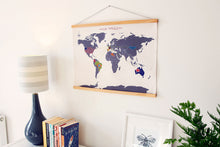Stitch Map Wall Hanging