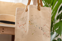 Stitch Tote Bag - Natural