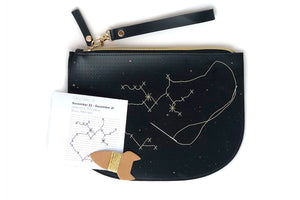Stitch Star Sign Zip Pouch