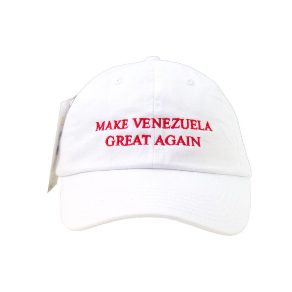 La Independencia Venezolana Gorra Blanca/Roja | Make Venezuela Great Again
