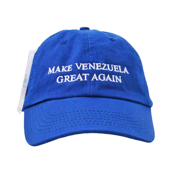 La Nacional Venezolana Gorra Azul | Make Venezuela Great Again
