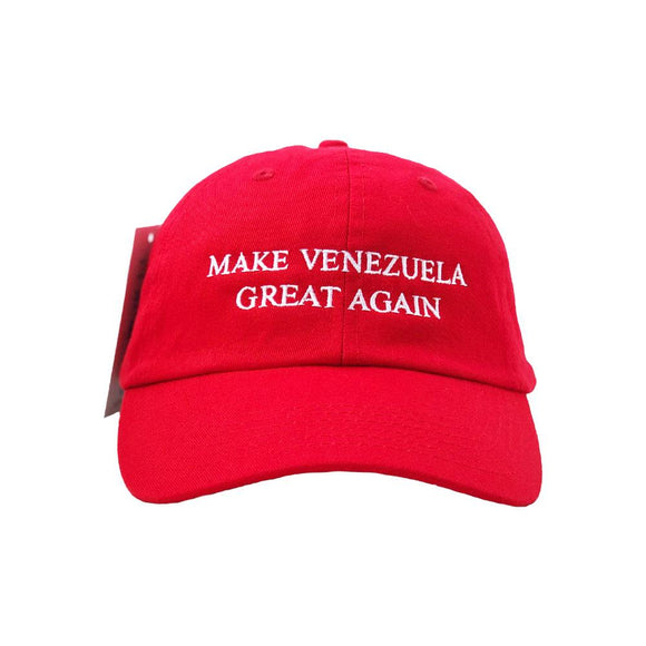 La Americana Venezolana Gorra Roja | Make Venezuela Great Again