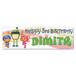 Team UmiZoomi Personalized Custom Birthday Banner