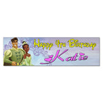 Princess and the Frog Custom Birthday Banner