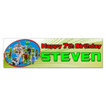 Planet 51 Personalized Custom Birthday Banner