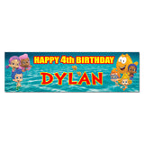 Bubble Guppies Personalized Custom Birthday Banner