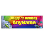 Personalized and Custom Printed Trolls Birthday Banner Party Favor