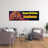 Avengers Infinity War Personalized and Custom Printed Birthday Banner Decoration