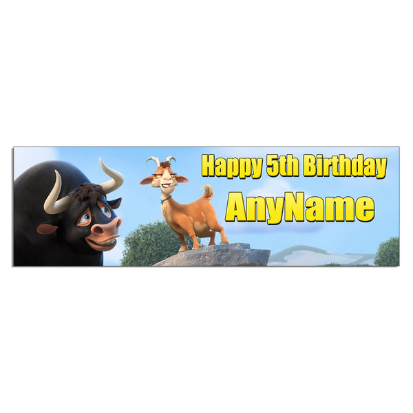 Ferdinand Personalized and Custom Printed Birthday Banner Party Decoration