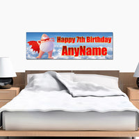 Captain Underpants Personalized and Custom Printed Birthday Banner Decoration