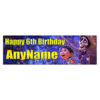 Coco Personalized and Custom Printed Birthday Banner Party Decoration