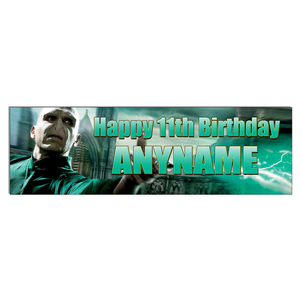 Lord Voldemort Harry Potter Personalized and Custom Printed Birthday Banner