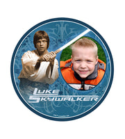 Star Wars Luke Skywalker Edible Image Photo Frame Cake Topper with Your Image