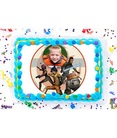Star Wars Rebels Edible Image Photo Frame Cake Topper with Your Image