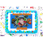Skylanders It's Boom Time Photo Frame Edible Image Cake Topper