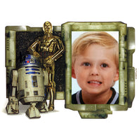Star Wars R2D2 and C3PO Photo Frame Edible Image Cake Topper