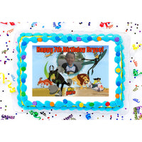 Wild Kratts Creature Rescue Photo Frame Edible Image Cake Topper