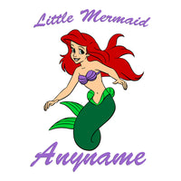 Little Mermaid Personalized Pillow Case