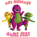 Personalized Barney And Friends T-Shirt