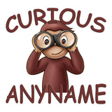 Curious George Personalized Pillow Case