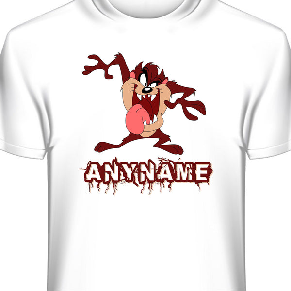 Tazmanian Devil Personalized T-Shirt