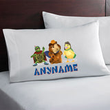 Wonder Pets Personalized Pillow Case