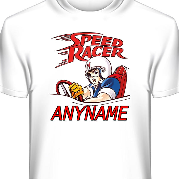 Speed Racer Personalized T-Shirt