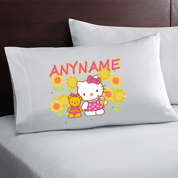 Hello Kitty Personalized Pillow Case